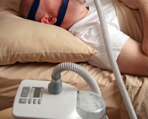 sleep apnea life insurance customer