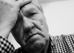 life insurance depression man