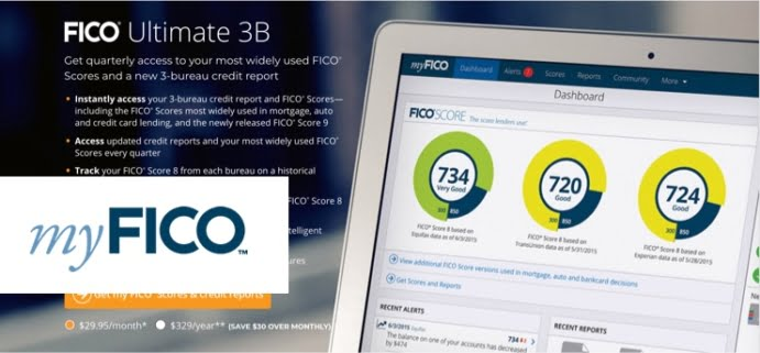 Difference Fico Score Credit Report  Myfico